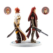 Tales Of The Abyss PVC Statues 1/8 Luke Fon Fabre & Asch Meaning of Birth Bonus Edition 24 cm