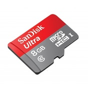 SanDisk SDSDQUAN-008G-G4A 8GB Ultra Android 48MB/s C10 microSDHC   Ad