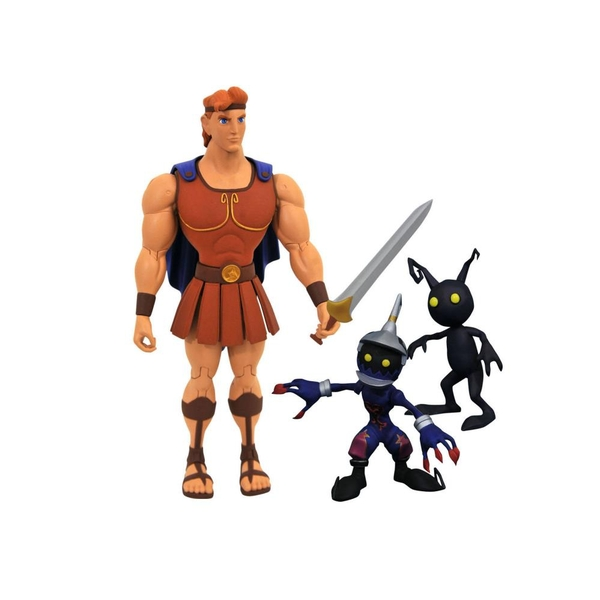 Hercules with Soldier and Shadow (Kingdom Hearts 3) Series 2 Diamond Select 7 Inch Action Figure