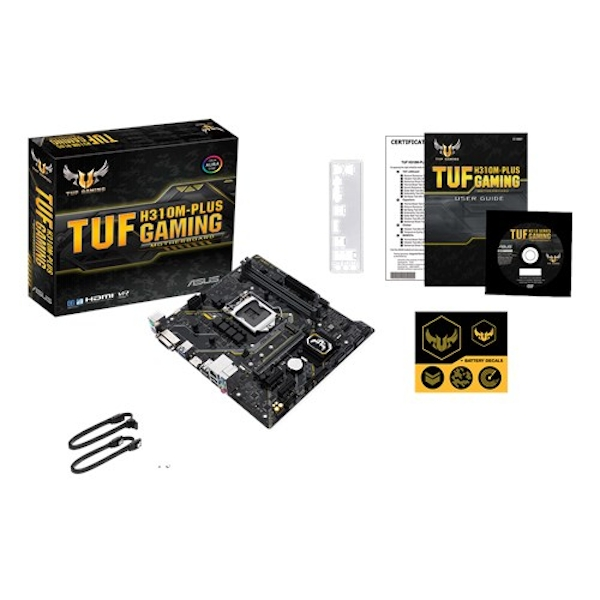 ASUS TUF H310M-Plus gaming Intel H310M LGA 1151 (Socket H4) microATX motherboard