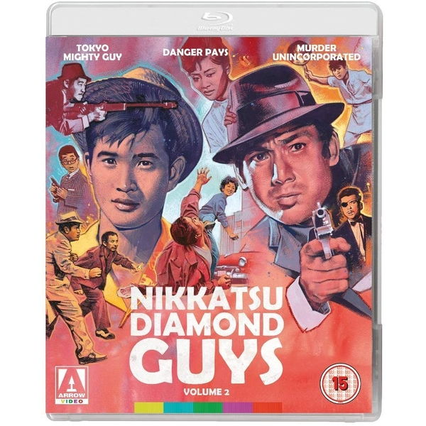 Nikkatsu Diamond Guys - Volume 2 Blu-Ray