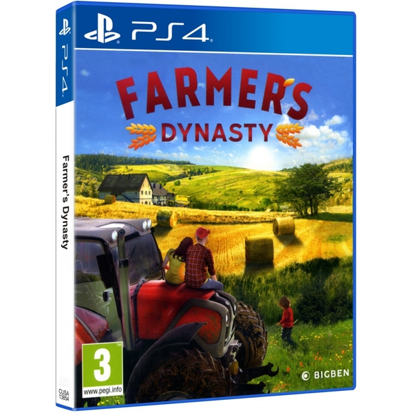 Farmers Dynasty PS4 Game - Image 1
