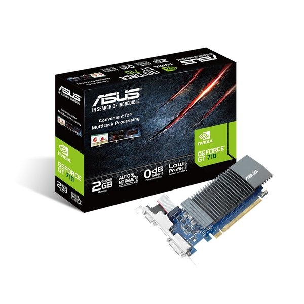 Asus GeForce GT 710 (2GB) Graphics Card PCI-E VGA/DVI/HDMI