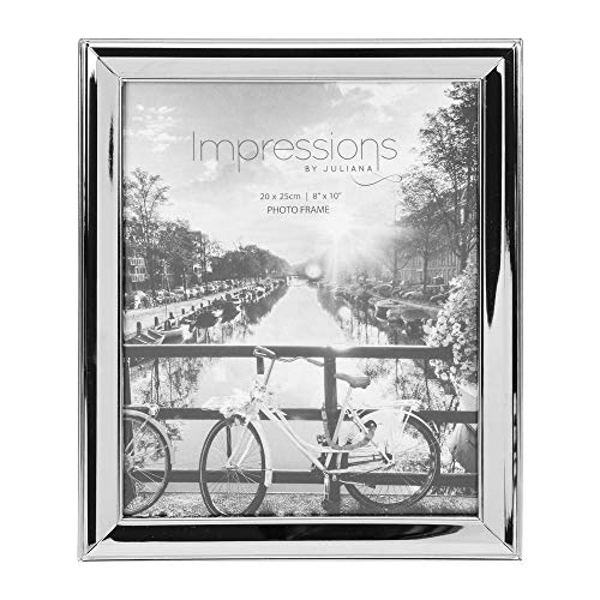 "8"" x 10"" - Impressions Nickel Plated Photo Frame"