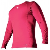 PT Base-Layer Long Sleeve Crew-Neck Shirt Small Boys Fluo Pink