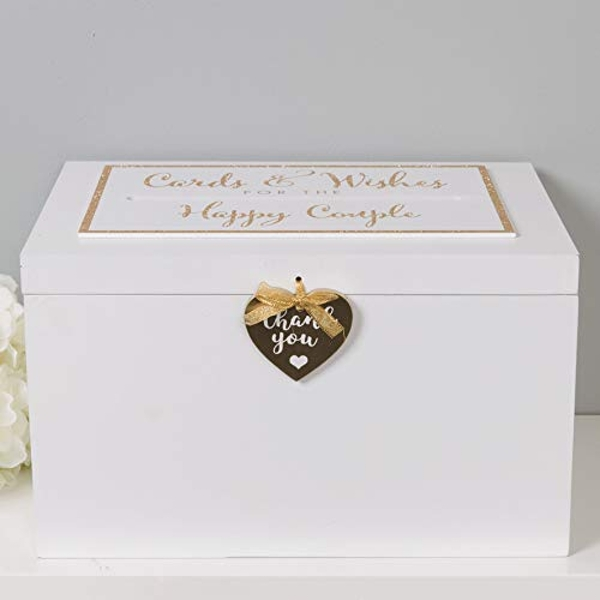 Always & Forever Wedding Thank You Card Box