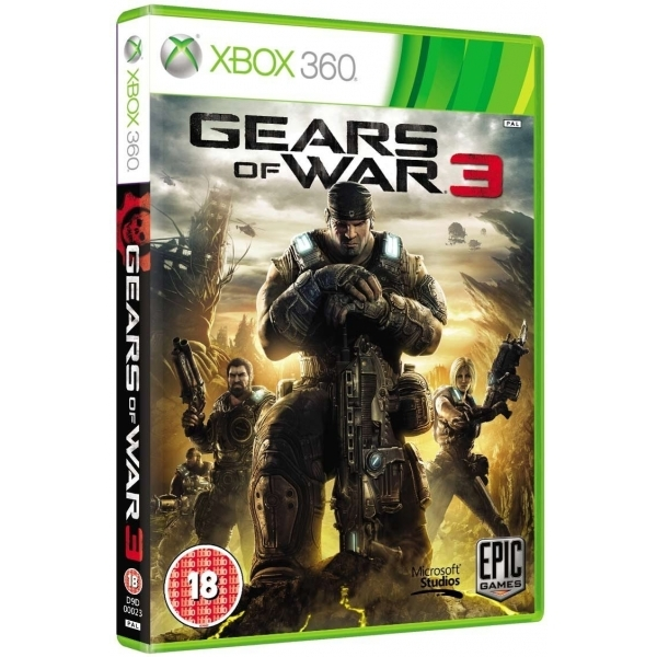 (Damaged Packaging) Gears Of War 3 Game Xbox 360