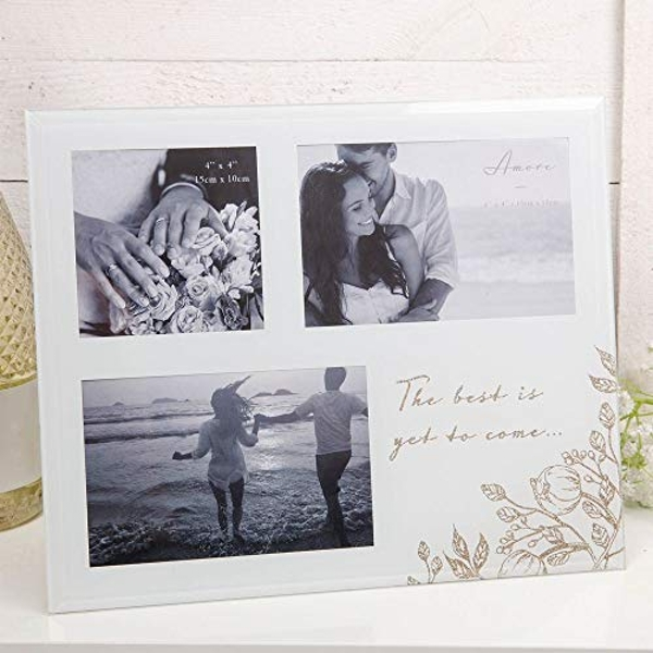 """4"""" x 4"""" - AMORE BY JULIANA? Multi Frame - The Best Is Yet..."""