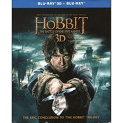 The Hobbit Battle of the Five Armies Blu-ray 3D & Blu-Ray