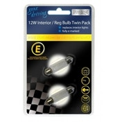 Boyz Toys Gone Driving 5W Interior Reg Bulb Twin pack 24 Pack