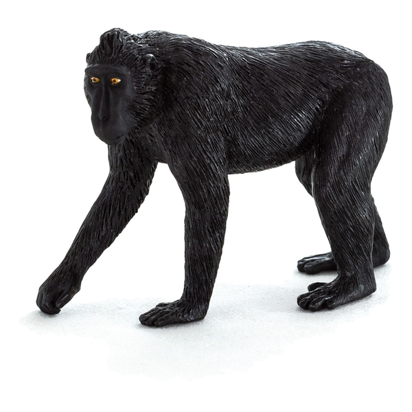 ANIMAL PLANET Wild Life & Woodland Black Crested Macaque Toy Figure