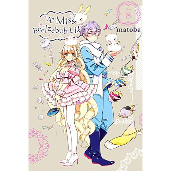 As Miss Beelzebub Likes, Vol. 8