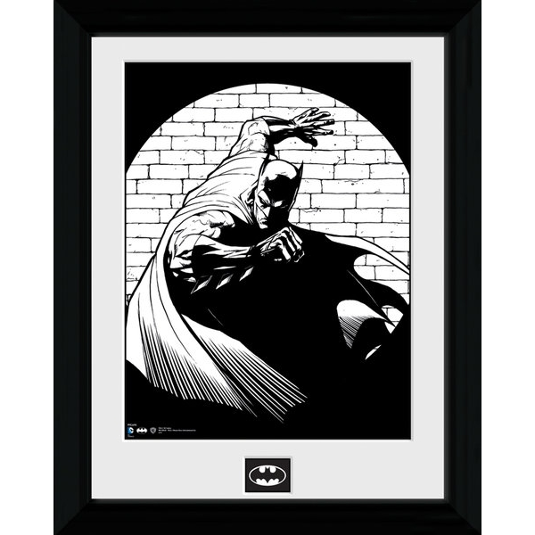 Batman Spotlight Framed Print