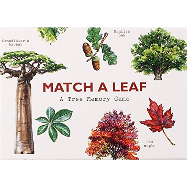 Match a Leaf A Tree Memory Game Cards 2018
