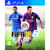 FIFA 15 PS4 Game (with 15 FUT Gold Packs)