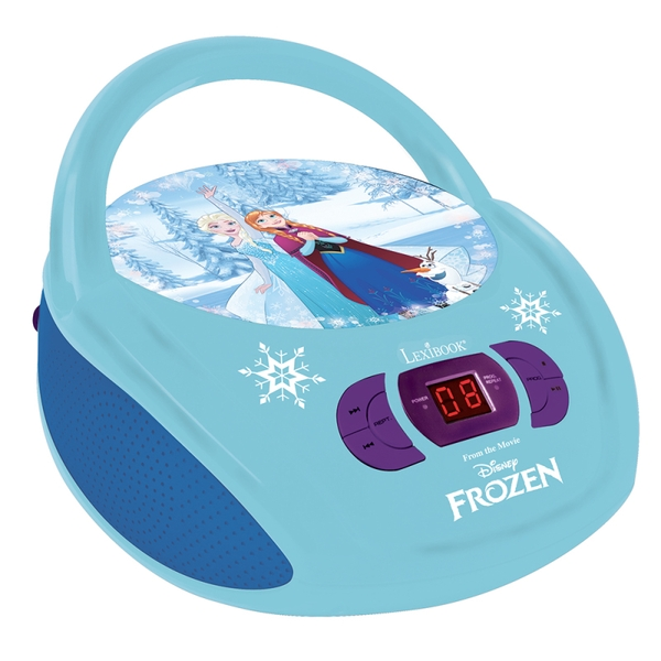 Lexibook RCD108FZ Disney Frozen Boombox Radio CD Player UK Plug