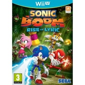 Sonic Boom Rise Of Lyric Wii U Game