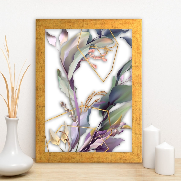 AC14815624821 Multicolor Decorative Framed MDF Painting