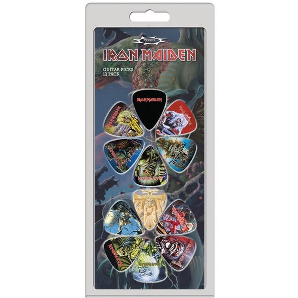Iron Maiden Guitar Picks 12 Pack