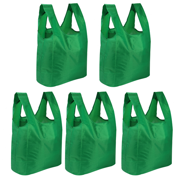 Set of 5 Reusable Grocery Bags | Pukkr