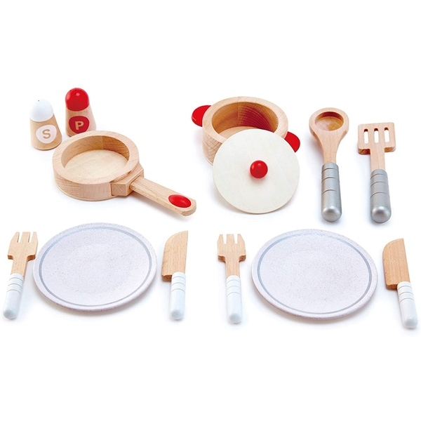 Hape All inclusive Cook & Serve Playset