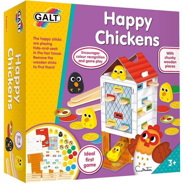 Happy Chickens Play & Learn Toy