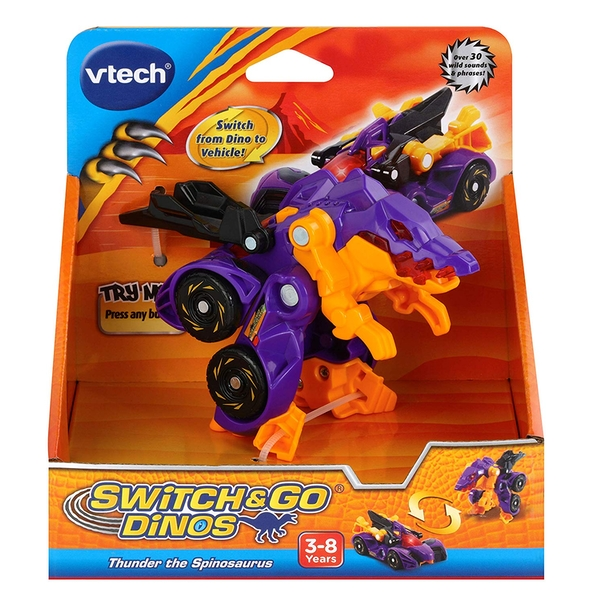 VTech Switch & Go Dinos - Thunder the Spinosaurus - Image 1