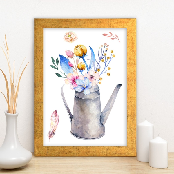 AC10355637942 Multicolor Decorative Framed MDF Painting