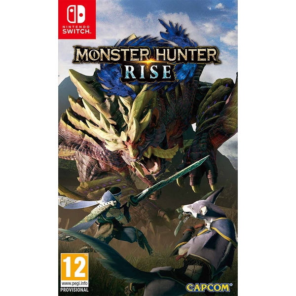 Monster Hunter Rise Nintendo Switch Game
