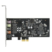 Asus Xonar SE 5.1 Gaming Soundcard, PCIe, Hi-Res Audio, 300ohm, 116dB SNR, Headphone Amp