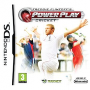 Freddie Flintoffs Power Play Cricket Game DS