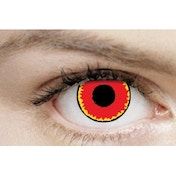 Red Vampire 1 Month Halloween Coloured Contact Lenses (MesmerEyez XtremeEyez)