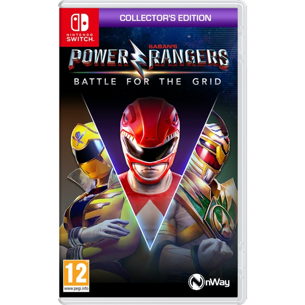 Power Rangers Battle for the Grid Collector's Edition Nintendo Switch Game