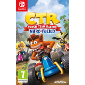 Crash Team Racing Nitro Fueled Nintendo Switch Game (with Pre-Order DLC)