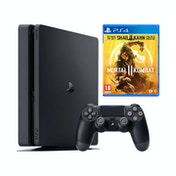 PlayStation 4 (1TB) Black Console + Mortal Kombat 11 PS4 Game