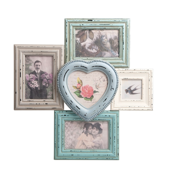 Sass & Belle Delilah Heart Multi Photo Frame