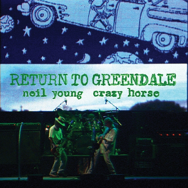 Neil Young Crazy Horse - Return To Greendale Vinyl