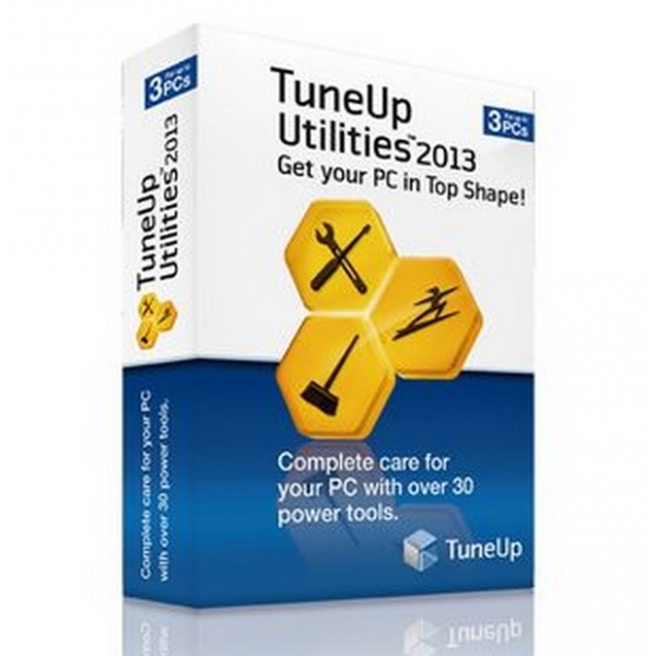 TuneUp Utilities PC Software 2013 3 User 1 Year