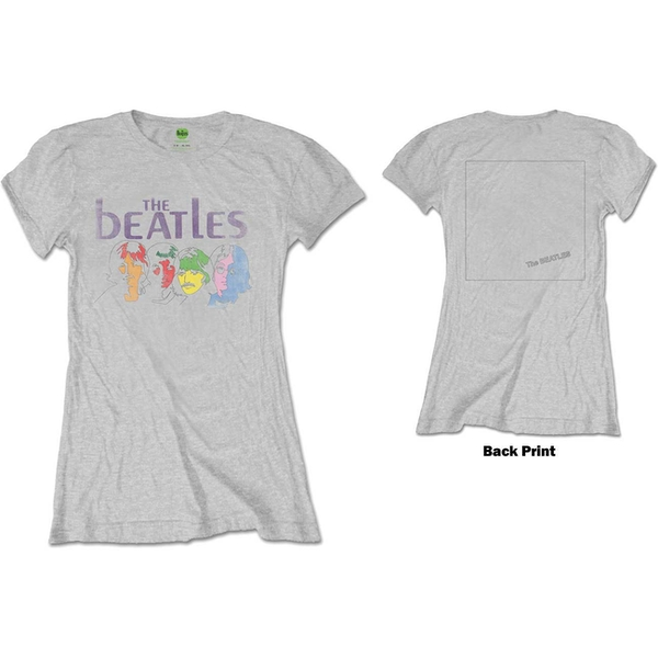 The Beatles - White Album Back Women's Large T-Shirt - Grey