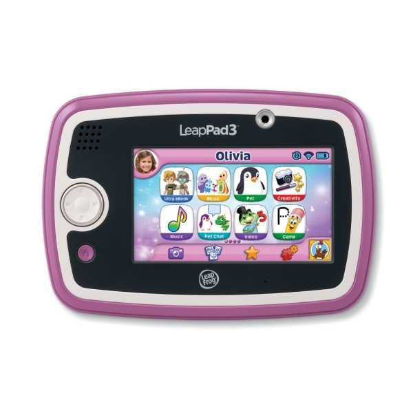 Ex-Display LeapFrog LeapPad 3 Learning Tablet Pink Used - Like New