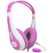 KidzPLAY Stereo Gaming Headset Pink PS3