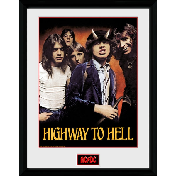 AC/DC Highway To Hell Collector Print 30x40 cm