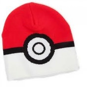 Pokemon Pokeball Red & White Beanie Hat