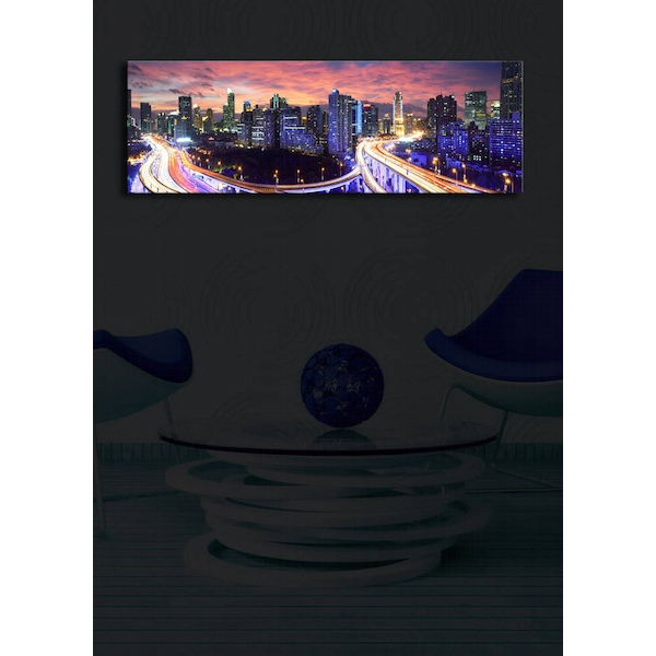 3090?ACT-25 Multicolor Decorative Led Lighted Canvas Painting