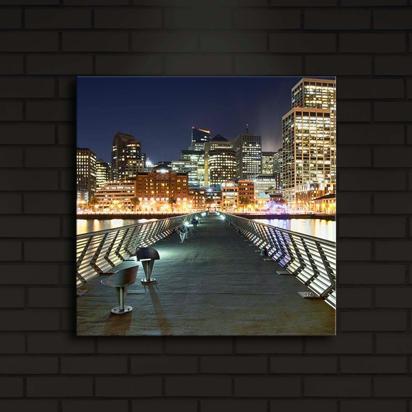 4040?ACT-14 Multicolor Decorative Led Lighted Canvas Painting