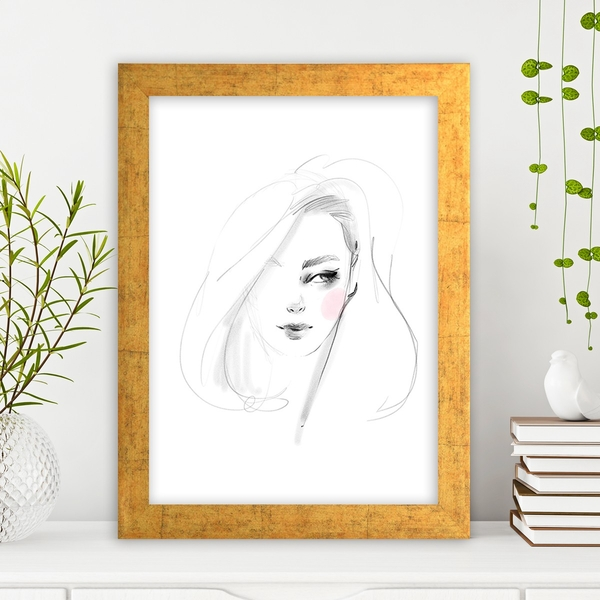 AC1018001968 Multicolor Decorative Framed MDF Painting