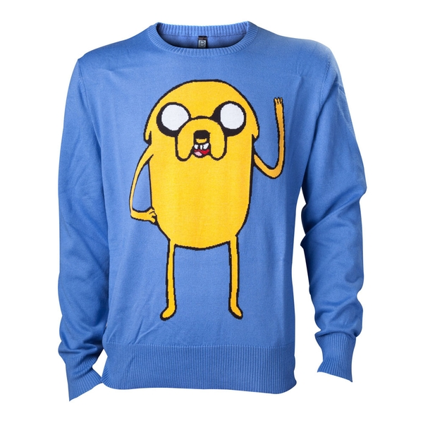 Adventure Time - Jake Men's X-Large Sweatshirt - Blue