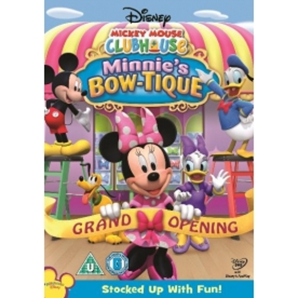 Mickey Mouse Clubhouse Minnie's Bowtique DVD