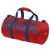 Lonsdale Barrel Bag Red & Navy