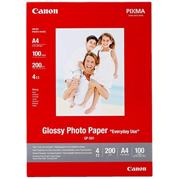 Canon GP 501 - Glossy photo paper - A4 - 200 g/m - 100 sheet(s)